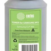 (1007016) Тонер для принтера Cactus CS-TSG3BK-90 черный (флакон 90гр) Samsung CLP-300