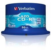 (1007062) Диск CD-R Verbatim 700Mb 52x Cake Box DataLife (50шт) 43351