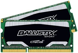 (1007102) Память DDR3L 2x4Gb 1866MHz Crucial BLS2C4G3N18AES4CEU RTL PC3-14900 CL10 SO-DIMM 204-pin 1.35В kit