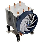 (1007138) Вентилятор Titan TTC-NK35TZ/R(KU) Soc-1155/775/AM3+/FM1/FM2 3pin 21dB Al+Cu 140W 540g клипсы Z-AXIS