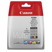 (1007139) Картридж струйный Canon CLI-471C/M/Y/Bk 0401C004 многоцветный для Canon Pixma MG5740/MG6840/MG7740