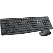 (179177) Комплект беспроводной Logitech Wireless Keyboard and Mouse MK235 (920-007948) Black