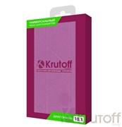 """(1007221) Чехол Krutoff универсальный для планшетов до 10"""" фиолетовый-розовый"""