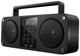 (1007277) Аудиомагнитола Supra BB-M102UB черный 6Вт/MP3/FM(dig)/USB/BT