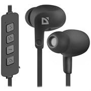 (175470)  Гарнитура беспроводная Defender FreeMotion B615 Bluetooth черная (63615)