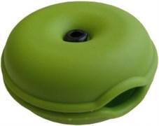 (178660)  Катушка-фиксатор для кабеля Espada EK11, длина кабеля 1м, цвет зелёный