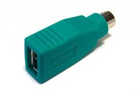 (1007373) Переходник USB PS/2/USB A (f)