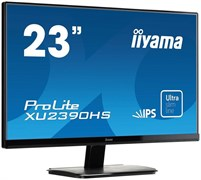 "(1007379) Монитор Iiyama 23"" XU2390HS-B1 черный AH-IPS LED 5ms 16:9 DVI HDMI M/M Mat 1000:1 250cd"