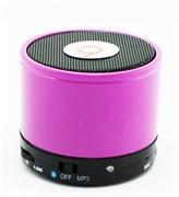 (1007414) Портативная колонка S10 (FM-радио, USB, microSD, AUX) фиолетовая