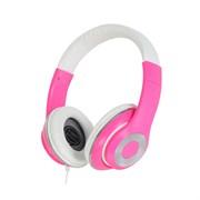 (1007421) Наушники Gorsun GS-C7706 (pink) с микрофоном