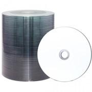 (1007385) Лазерные диски RITEK DVD-R 4,7 GB 16x FullFace Printable Bulk