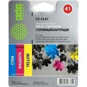 (1007457) Картридж струйный Cactus CS-CL41 голубой/пурпурный/желтый для Canon Pixma MP150/MP160/MP170/MP180/MP