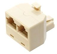 (169732)  Переходник-разветвитель 5bites LY-US024,  8P8C Plug -> 2 x 8P8C Jack RJ-45