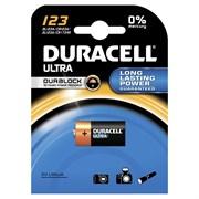 (105819) Батарейка Duracell CR123 ULTRA (1 шт. в упаковке)