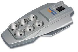 (1007497) Сетевой фильтр Pilot X-Pro 3м (6 розеток) серый (коробка)