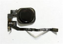 (1007548) Кнопка HOME в сборе с механизмом и шлейфом для Apple iPhone 5S черная