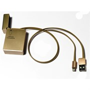(1007602) Кабель USB-Lightning KS-is (KS-292G) золот