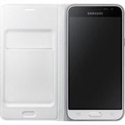 (1007709) Чехол (флип-кейс) Samsung для Samsung Galaxy J3 Flip Wallet белый (EF-WJ320PWEGRU)