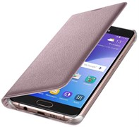 (1007705) Чехол (флип-кейс) Samsung для Samsung Galaxy A5 (2016) Flip Wallet розовое золото (EF-WA510PZEGRU)