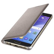 (1007703) Чехол (флип-кейс) Samsung для Samsung Galaxy A5 (2016) Flip Wallet золотистый (EF-WA510PFEGRU)