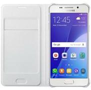 (1007701) Чехол (флип-кейс) Samsung для Samsung Galaxy A3 (2016) Flip Wallet белый (EF-WA310PWEGRU)