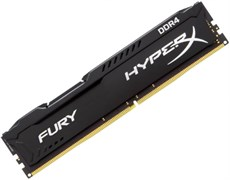 (1007722)  DIMM DDR4 (2400)  8Gb Kingston HyperX Fury HX424C15FB2/8, CL15, 1.2V, RTL