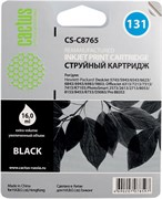 (1007750) Картридж струйный Cactus CS-C8765 №131 черный для HP DJ 5743/5943/6543/6623/6843/6943/6983/9803/DJ 6
