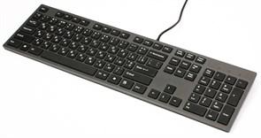 (1007838) Клавиатура A4Tech KV-300H, ультратонкая, ноутбучный механизм клавиш, 2 USB