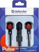 (1007843)  Гарнитура Defender Pulse 428 черная
