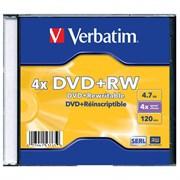 (1007812) Диск DVD+RW Verbatim 1.46Gb 4x Jewel case (43565)