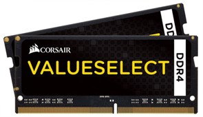 (1007818) Память DDR4 2x4Gb 2133MHz Corsair CMSO8GX4M2A2133C15 RTL PC4-17000 CL15 SO-DIMM 260-pin 1.2В