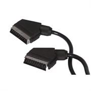 (1007858) Кабель аудио-видео Buro SCART (m)/SCART (m) 1м. черный (BSC001-B-1)