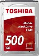 """(1007874) Жесткий диск Toshiba SATA-II 500Gb HDWJ105EZSTA L200 (5400rpm) 8Mb 2.5"""" Rtl"""