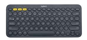 (1007890) Беспроводная клавиатура Logitech Wireless Keyboard K380 Dark Grey, Bluetooth, [920-007584]