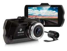 (1007923) Видеорегистратор Neoline Wide S45 DUAL черный 2Mpix 1080x1920 1080p 155гр. GP3159