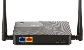 (1007933) Маршрутизатор ZyXEL Keenetic Start II  Интернет-центр для выделенной линии Ethernet с точкой доступа Wi-Fi 802.11n 300 Мбит/с
