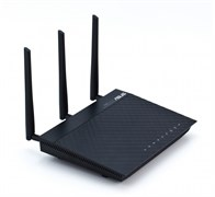 (1007947) Маршрутизатор Asus RT-N66U Dual-Band Wireless-N900 (450+450Mbps) Gigabit Router with 4 x RJ45 for 10/100/1000/Gigabits BaseT for LAN, 1 x RJ45 for 10/100/1000/Gigabits BaseT for WAN, 2 USB 2.0 ports