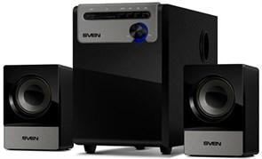 (1008073) Колонки Sven MS-110 (2.1)   5 + 2х2.5Вт, SD/USB, цвет черный