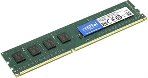 (1008147) Память DDR3L 4Gb 1600MHz Crucial CT51264BD160B RTL PC3-12800 CL11 DIMM 240-pin 1.35В