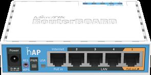 (1008183) Беспроводный маршрутизатор Mikrotik hAP RB951Ui-2nD 300N Wi-Fi RouterBOARD