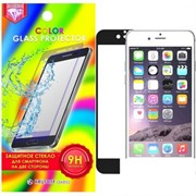 (1008197) Стекло защитное цветное Krutoff Group для iPhone 5/5S на две стороны (gold)