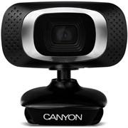 (1008189) Web-камера CANYON CNE-CWC3 веб - камера 1080P Full HD, 2.0 Мпикс, USB 2.0, 360° поворотное крепление, 6