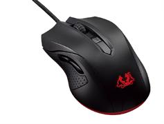 (1008241) Мышь Asus Cerberus черный/красный оптическая (2500dpi) USB2.0 игровая (5but)