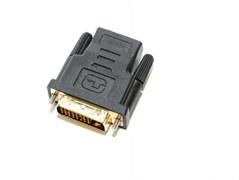 (1008252) Переходник 5bites DH1803G DVI (24+1) M / HDMI F, зол.разъемы