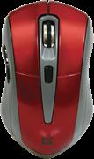 (189011) Мышь беспроводная Defender Accura MM-965, 800-1600 dpi, красная  (52966)