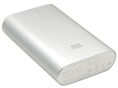 (1008303) Портативный аккумулятор Xiaomi Mi Power Bank 10000mAh (Silver)