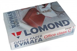 (114176)  Бумага Lomond Office 0101005 (A4, класс С, 80 г/м2, 500 л.)
