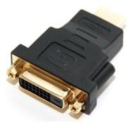(110982)  Переходник HDMI (M) -> DVI-I (F), 5bites (DH1807G), позолоченные контакты