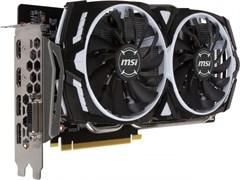 (1008406) Видеокарта MSI PCI-E GTX 1060 ARMOR 3G OCV1 NV GTX 1060 3072Mb 192b GDDR5 1544/8008 DVIx1/HDMIx2/DPx