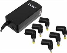 (1008389) Блок питания Buro BUM-0061A40 автоматический 40W 7.5V-20V 6-connectors 3.2A 1xUSB 1A от бытовой элек